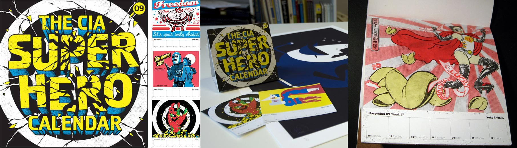 CIA Super Hero Calendar