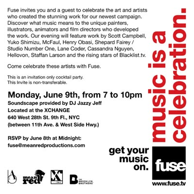 Fuse TV: Poster Campaign 1