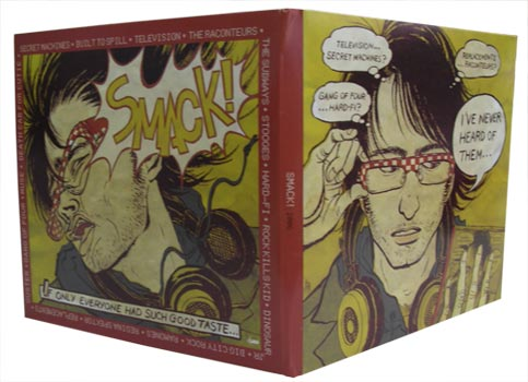 Warner Elektra Atlantic Music's new sampler CD, SMACK!