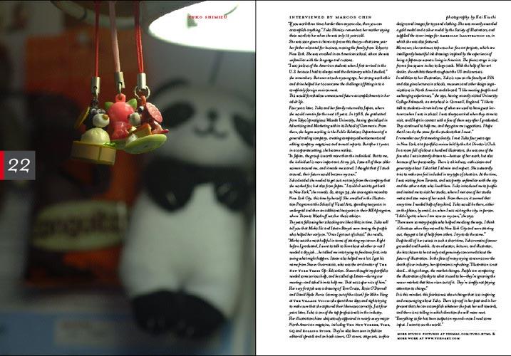 3X3 Magazine: Spread 1