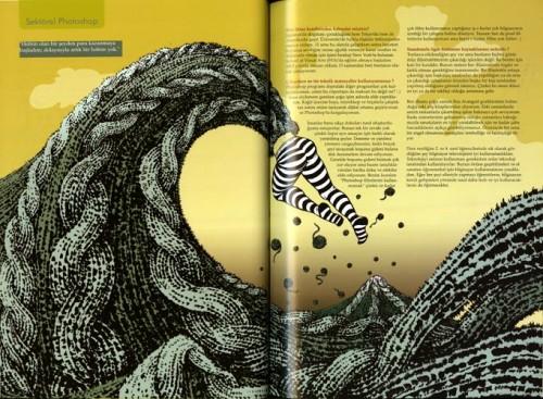 Turkish Magazine Spread 2