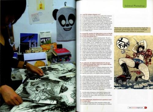 Turkish Magazine Spread 3