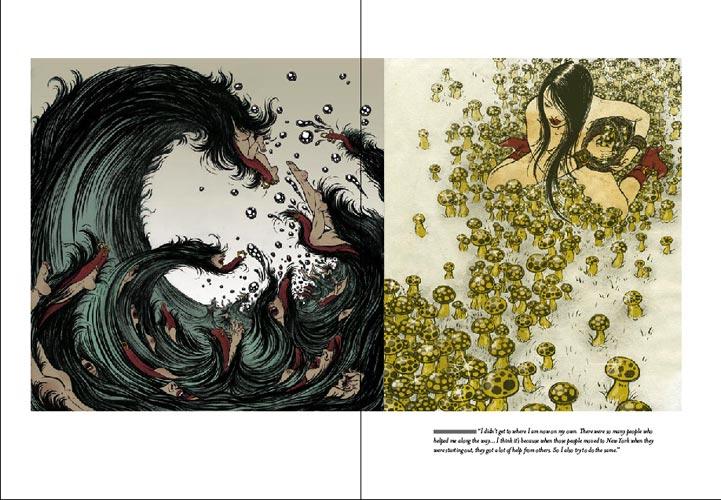 3X3 Magazine: Spread 5
