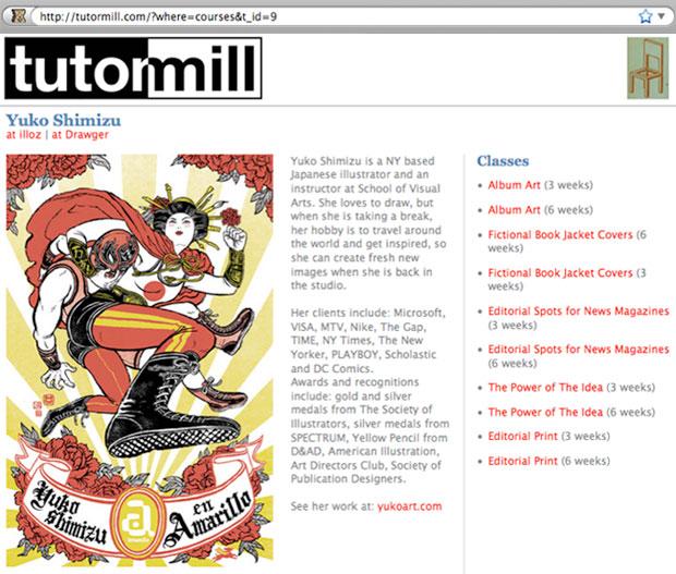 Yuko's TutorMill Page