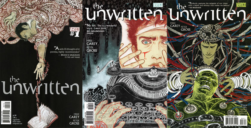Unwritten Covers