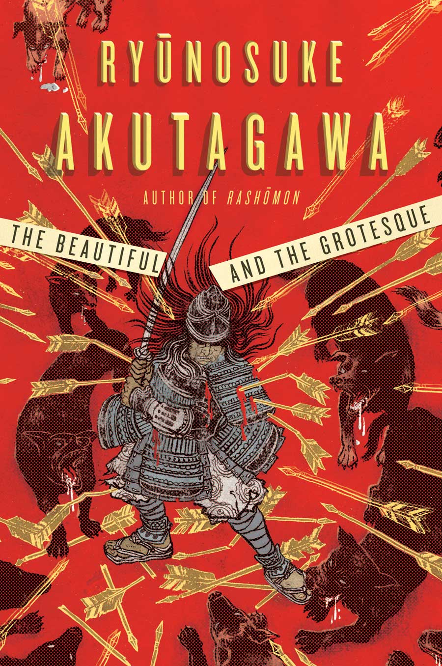 Yuko Shimizu - The Beautiful and the Grotesque book cover - yuko shimizu akutagawa