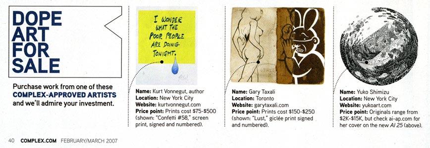 Complex Magazine: Feb/Mar 2007 Article