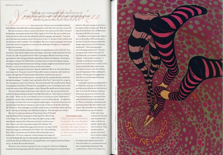 CQ Journal: Issue 8, Spread 1
