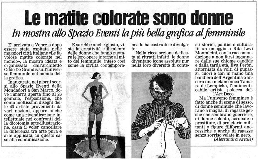 La Nuova: January 15, 2008 Article
