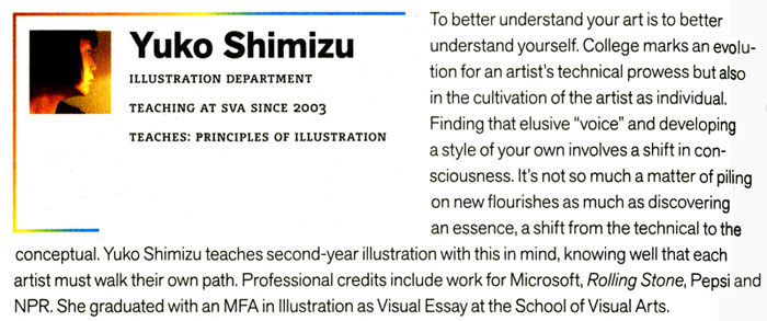 Proof: SVA 2008-2009 Catalog: Text