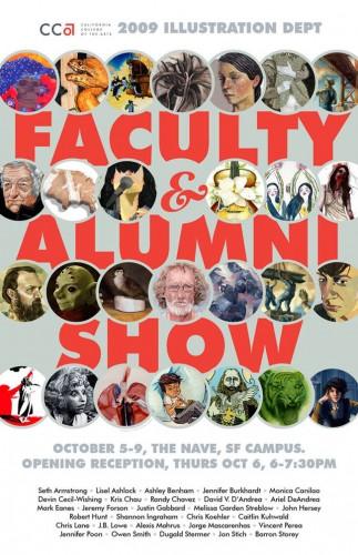 San Francisco (October 2009): Faculty Alumni Show