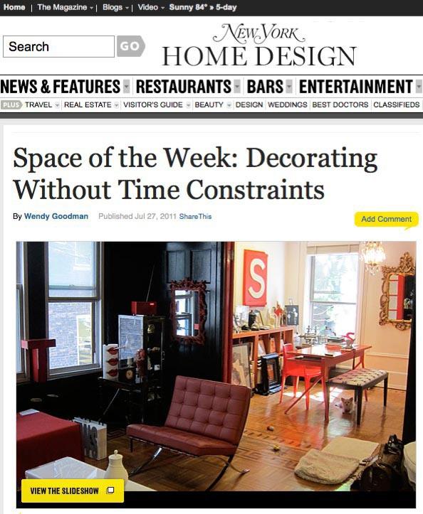 A Big Personal Work: New York Magazine