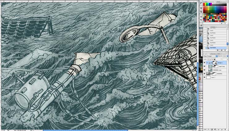The Man Who Sailed His House illustration 3