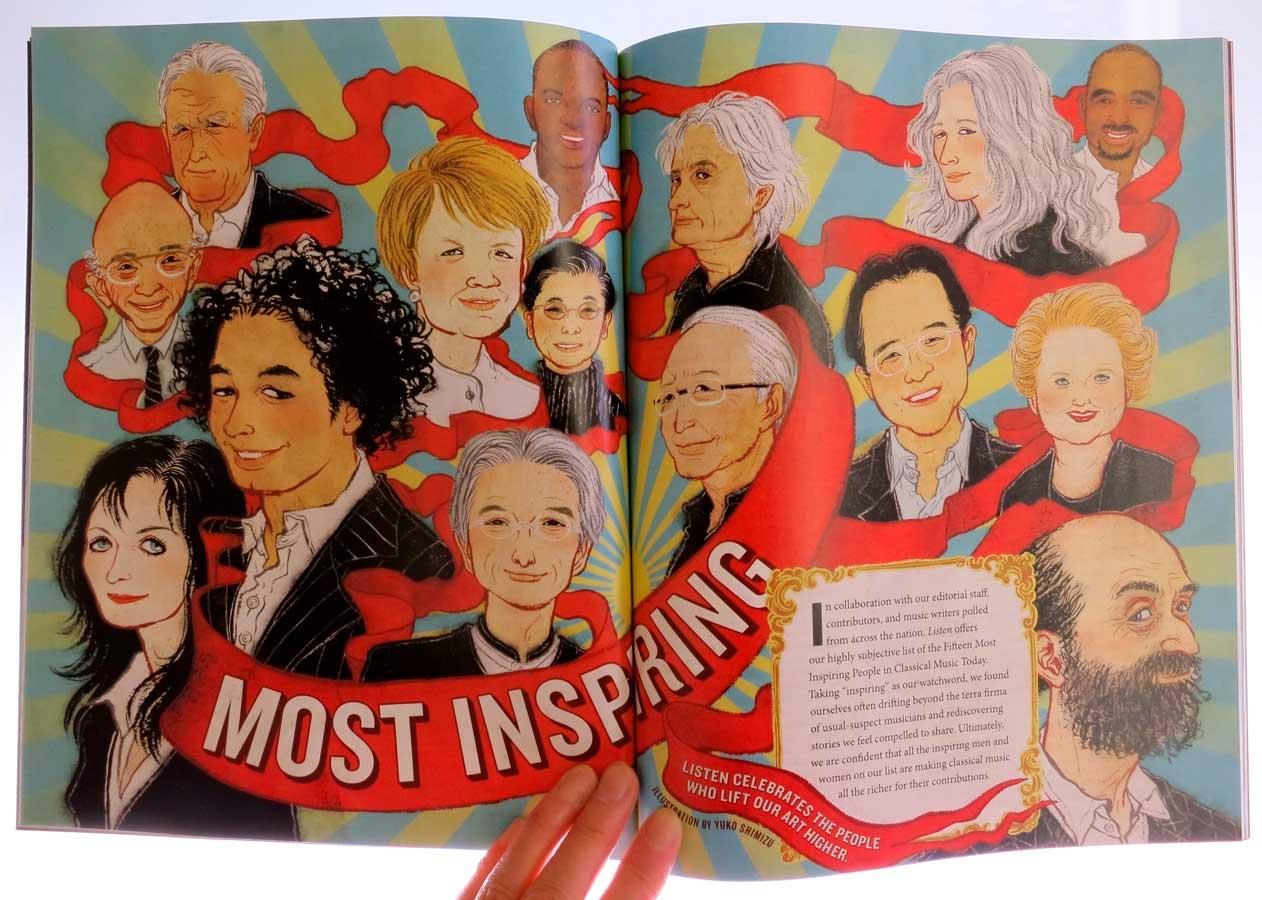 Yuko Shimizu - LISTEN magazine -