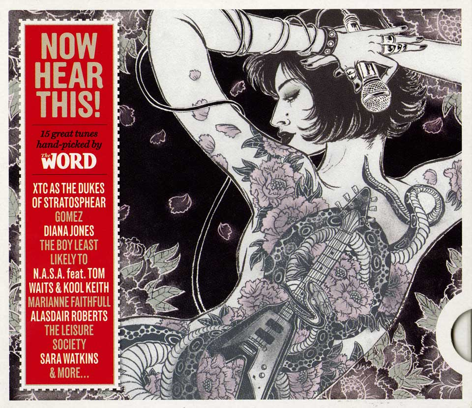 Yuko Shimizu - THE WORD Now Hear This CD –THE FLYING V– - The Word magazine May 2009