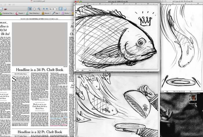Quick Fish sketch