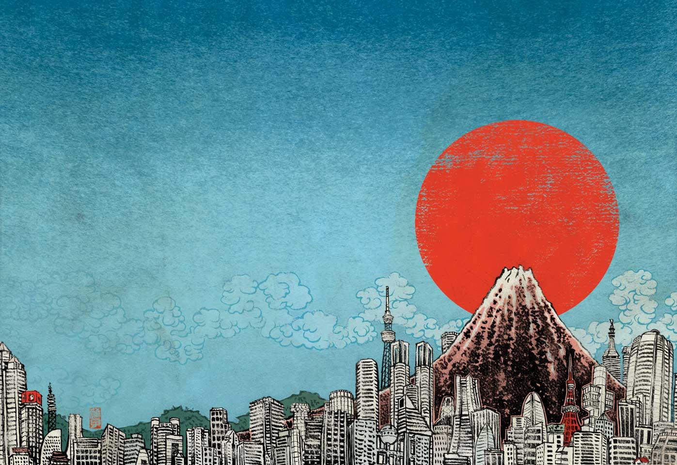 Best Book Cover In Japan : Reimagining japan book cover yuko shimizu
