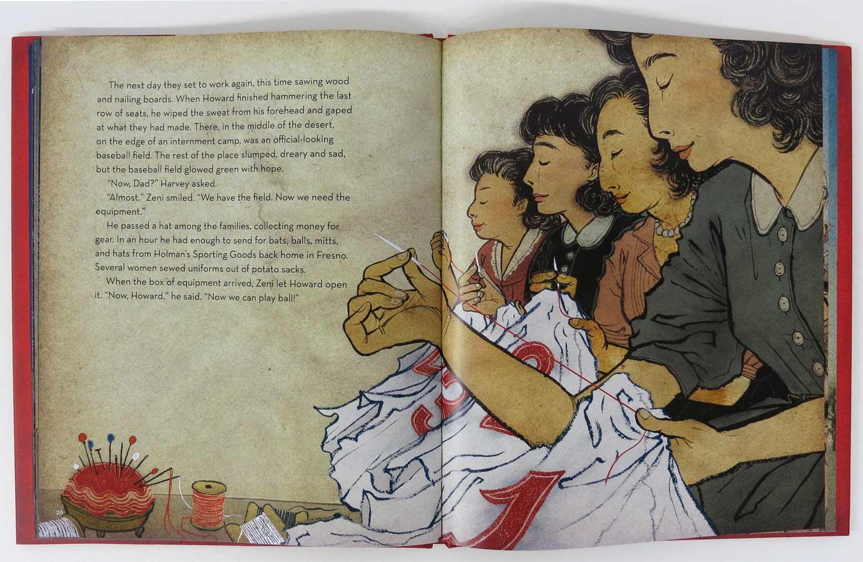 Yuko Shimizu - BARBED WIRE BASEBALL book -