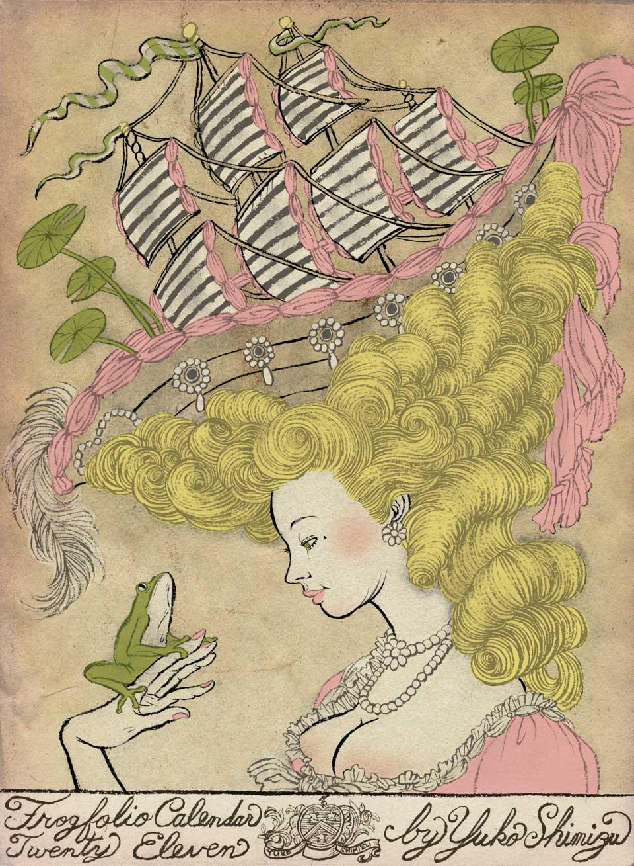Yuko Shimizu - FROGFOLIO calendar & wrapping paper 2 -