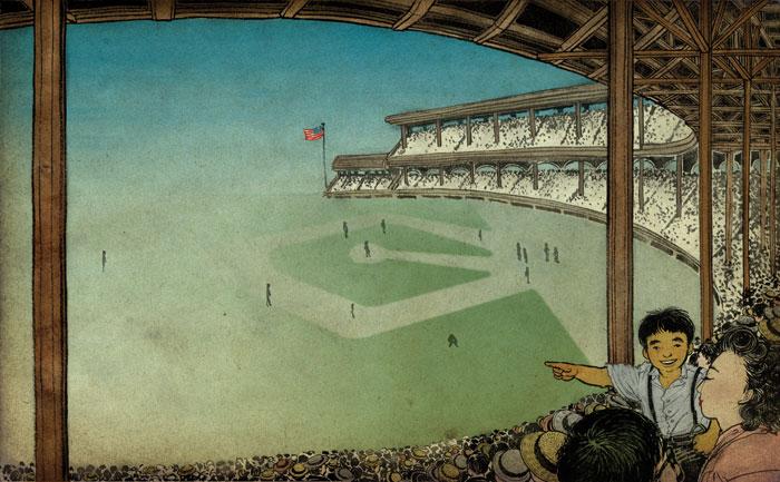 """yuko Shimizu"" ""Barbed Wire Baseball"" ""American Illustration"""
