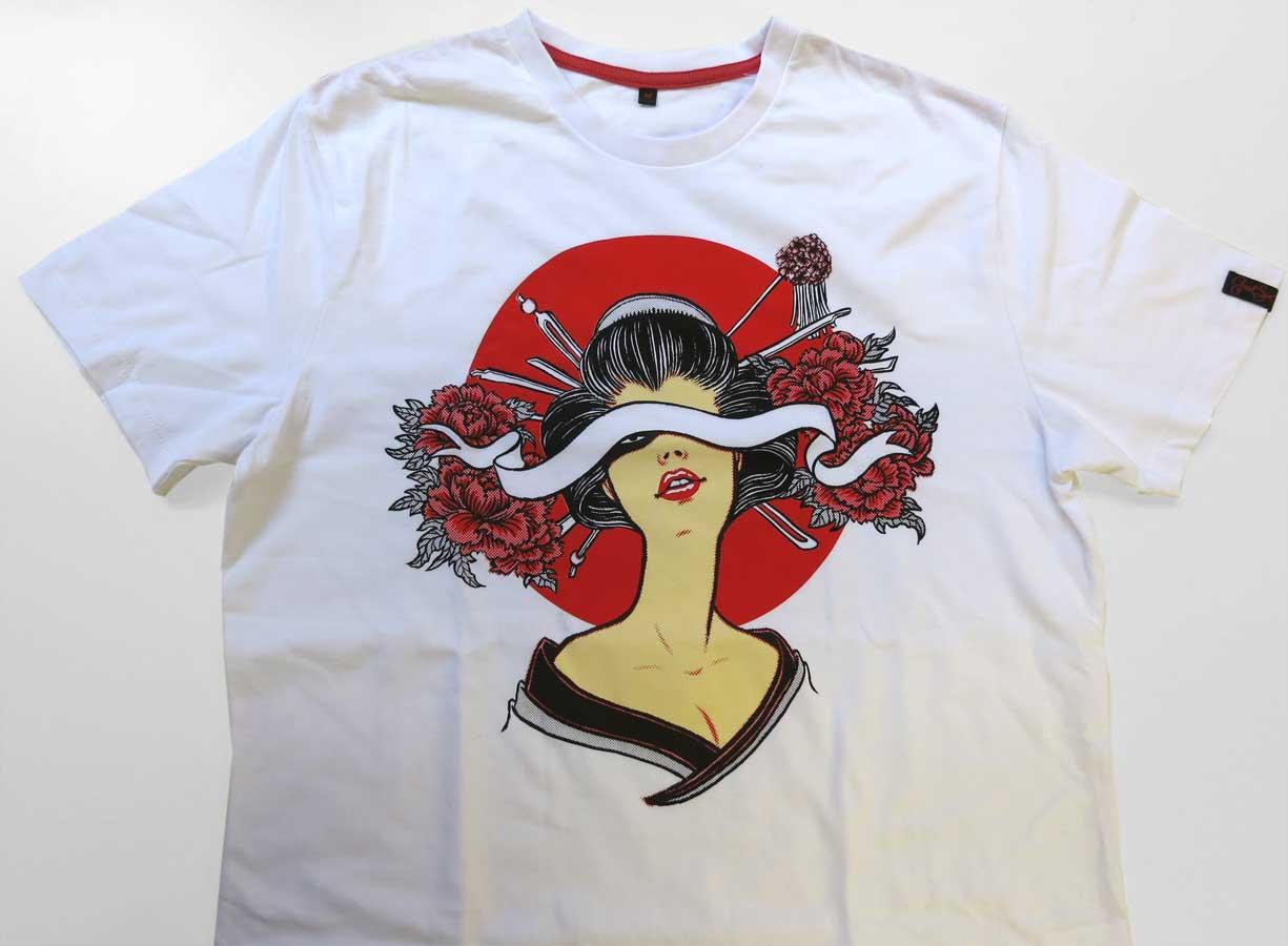 Yuko Shimizu - Yuko x GoodSon T shirts project - yuko shimizu good son t-shirts geisha