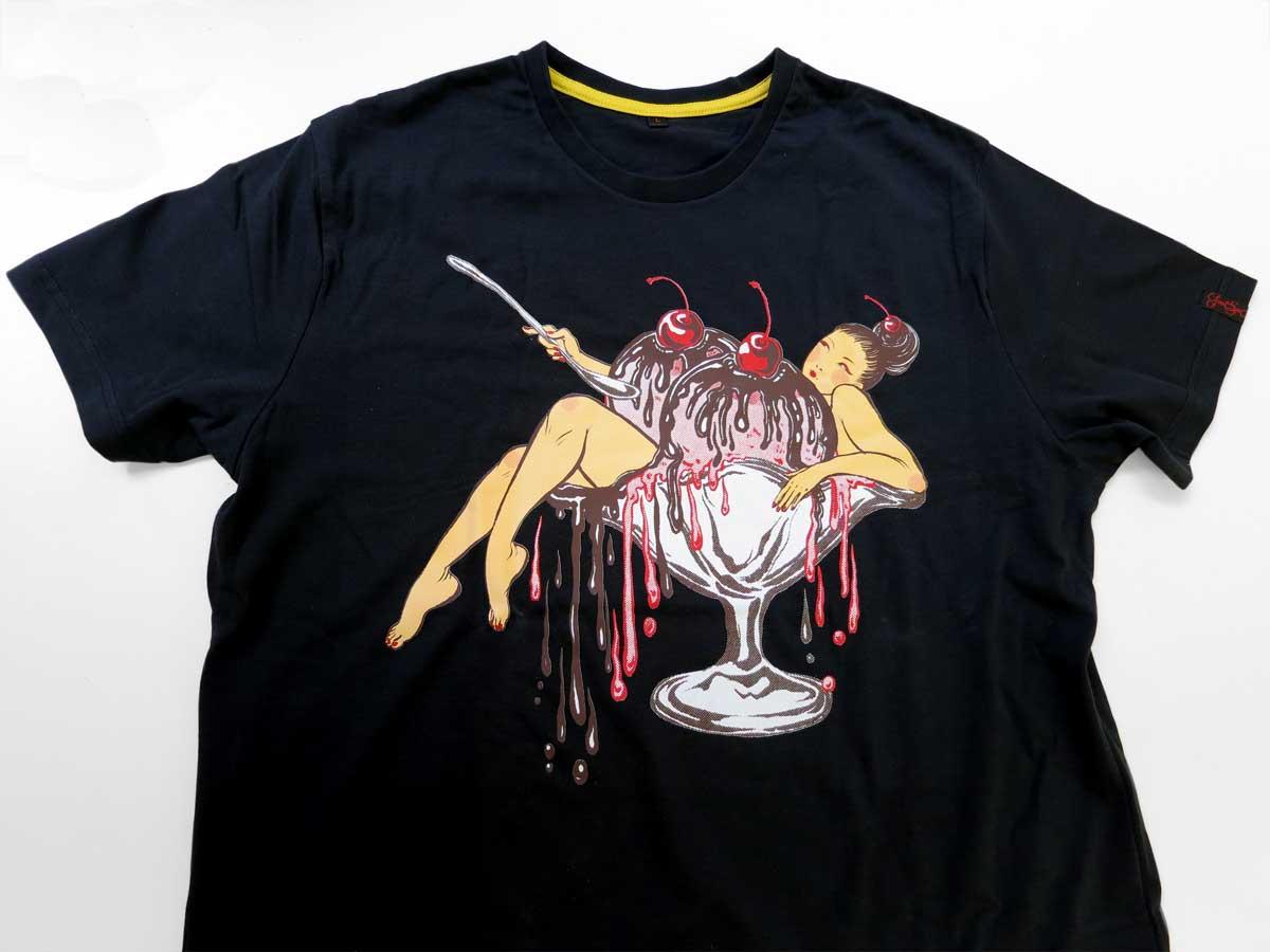 Yuko Shimizu - Yuko x GoodSon T shirts project - yuko shimizu good son t-shirts