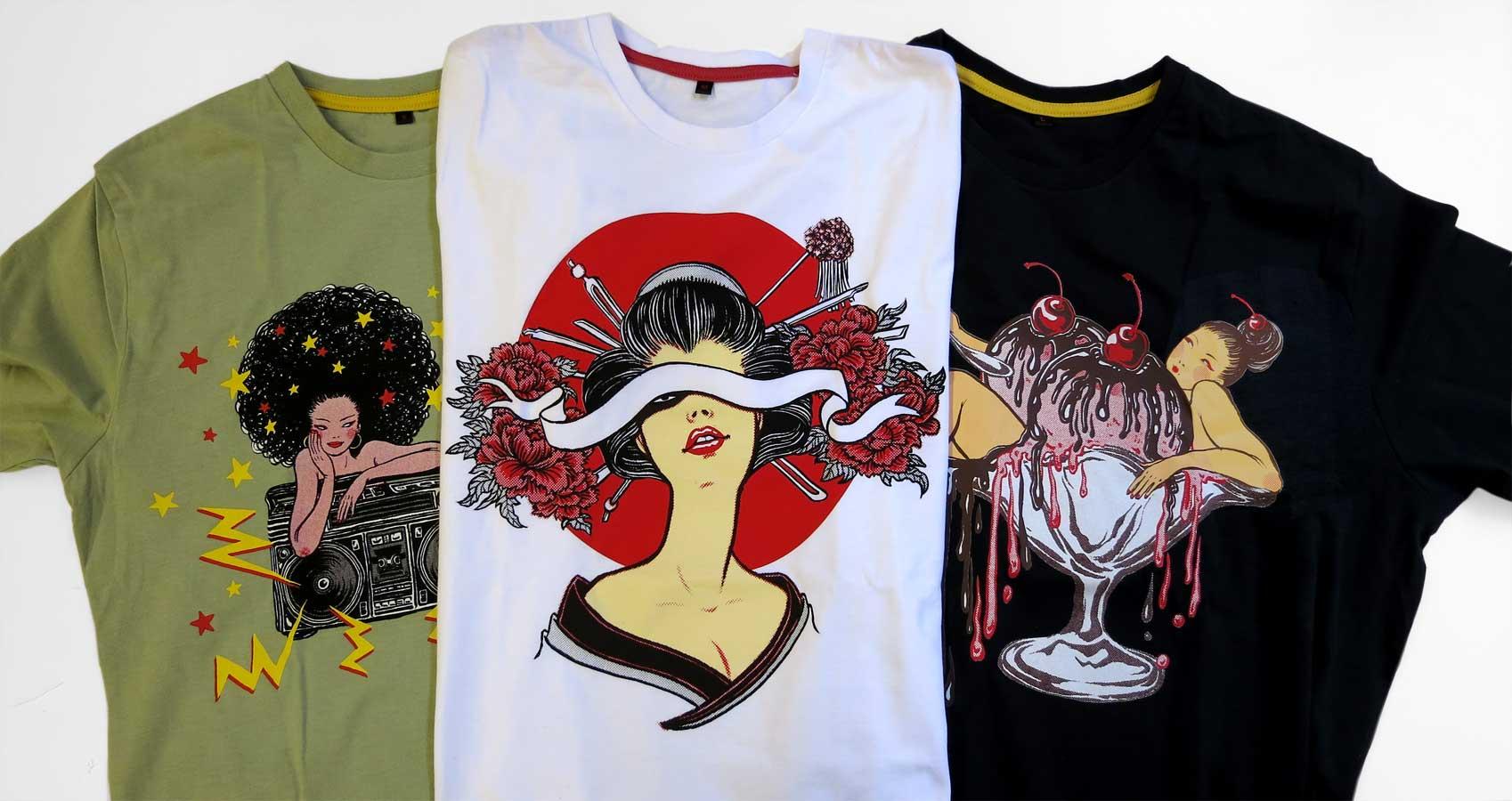 Yuko Shimizu - Yuko x GoodSon T shirts project - yuko shimizu good son t shirts