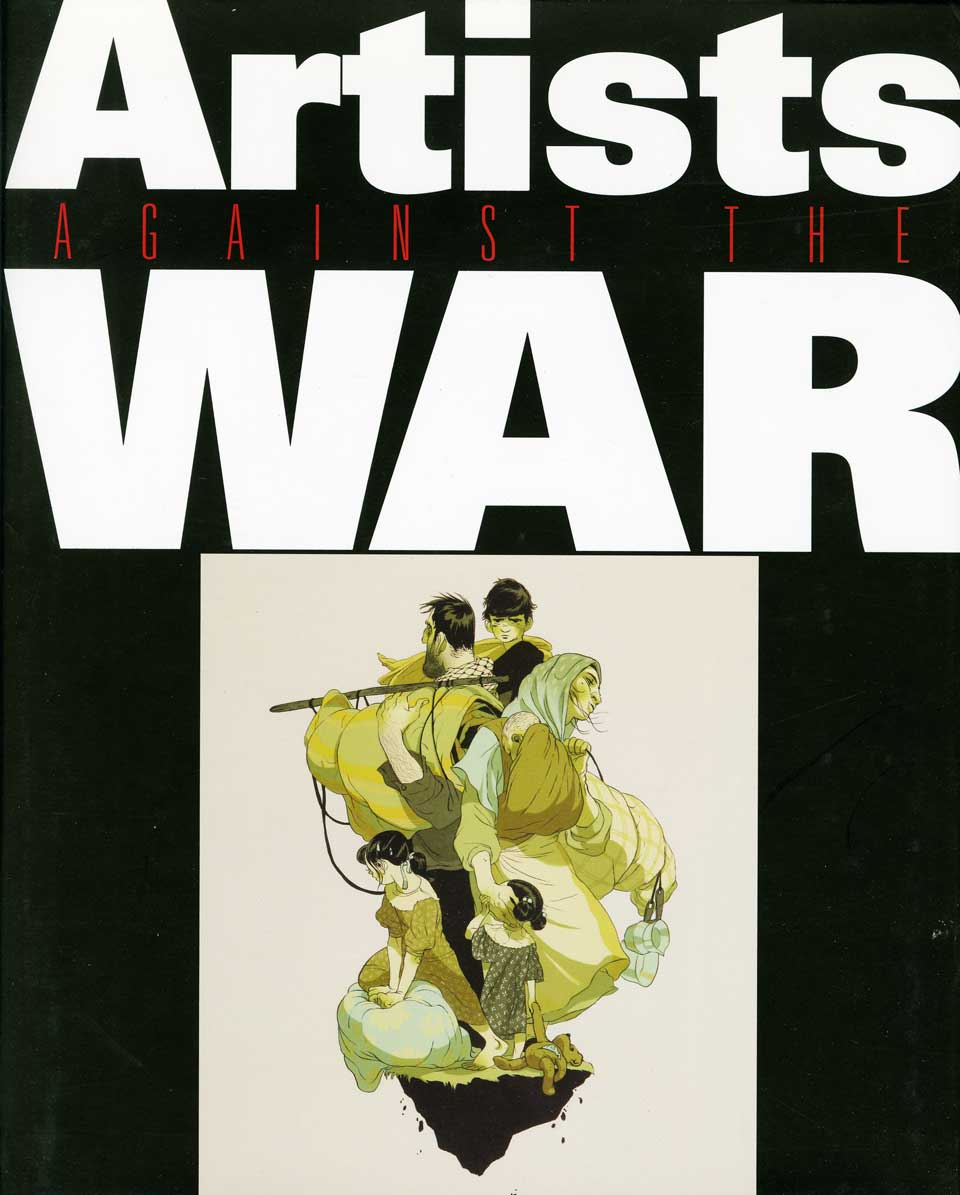 Artists Against the War cover
