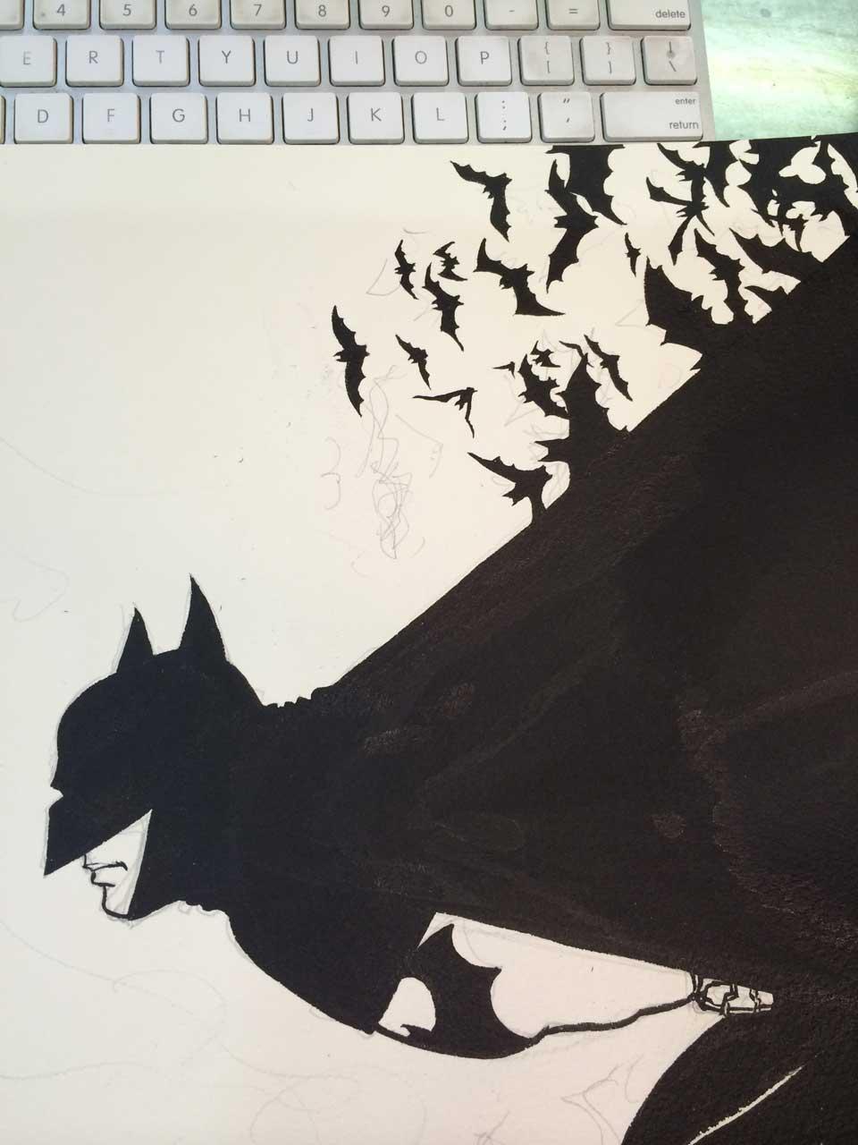 Yuko Shimizu - BATMAN Detective Comics cover -