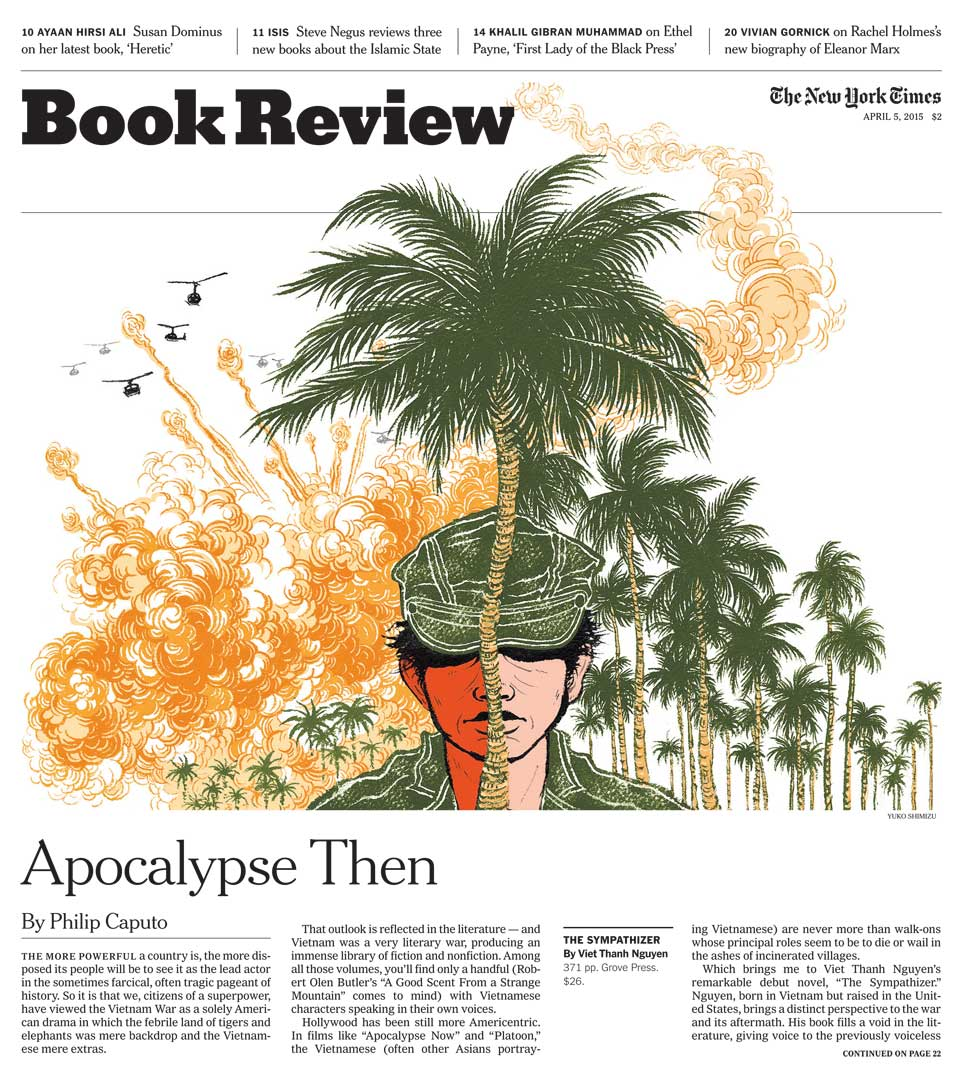 Ny Times Book Review Cover The Sympathizer Yuko Shimizu