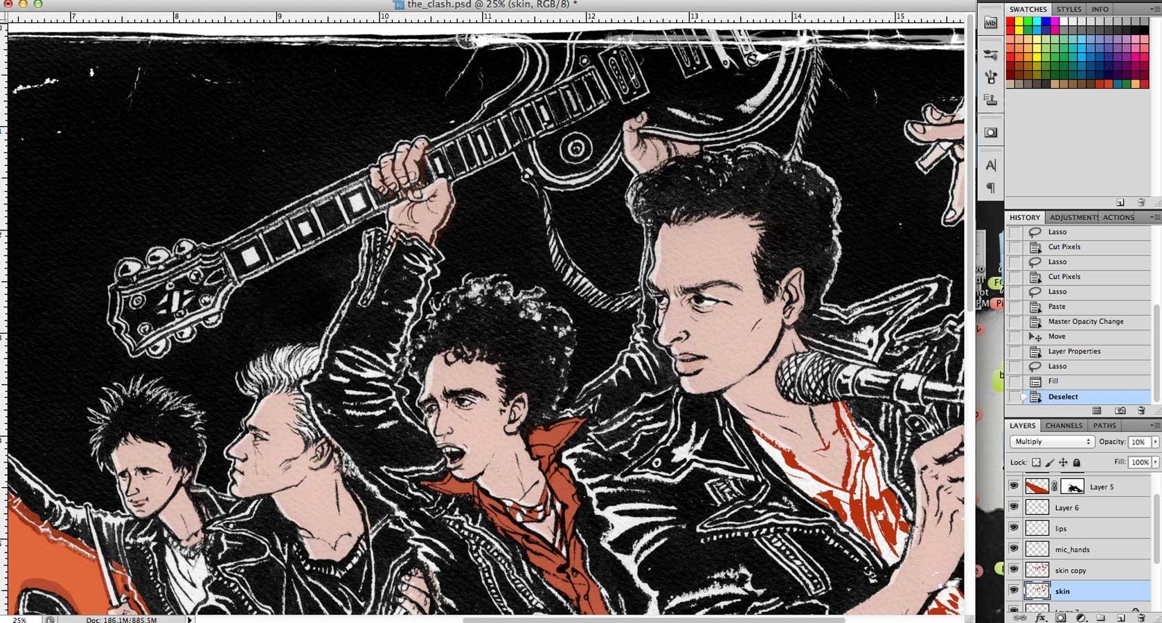 8by8 The Clash Portrait