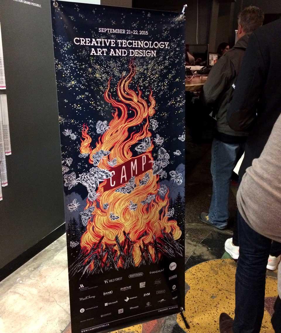Yuko Shimizu - CAMP design/tech Festival key visual -