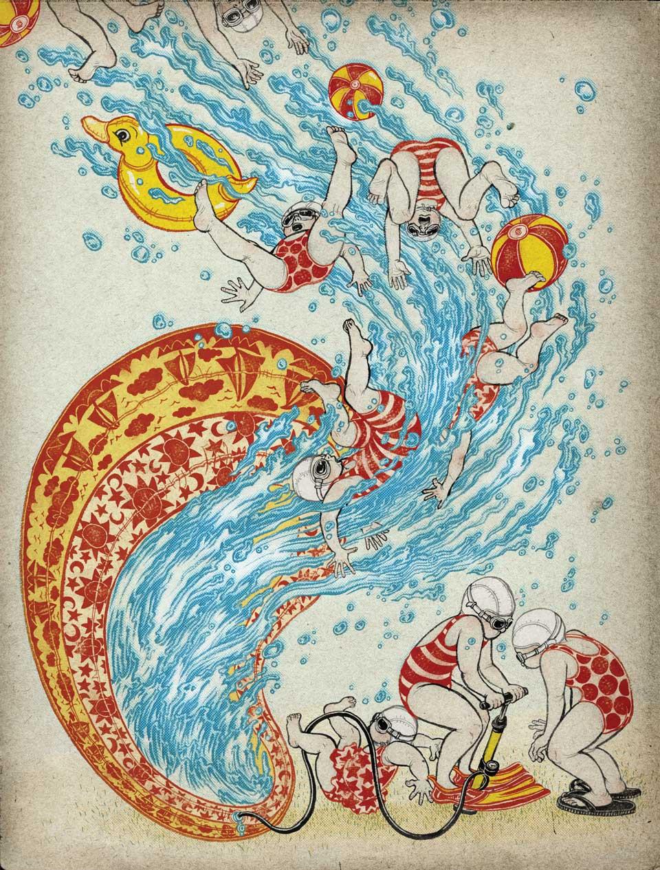 Yuko Shimizu - PLANSPONSOR –kiddy pool emergency– -