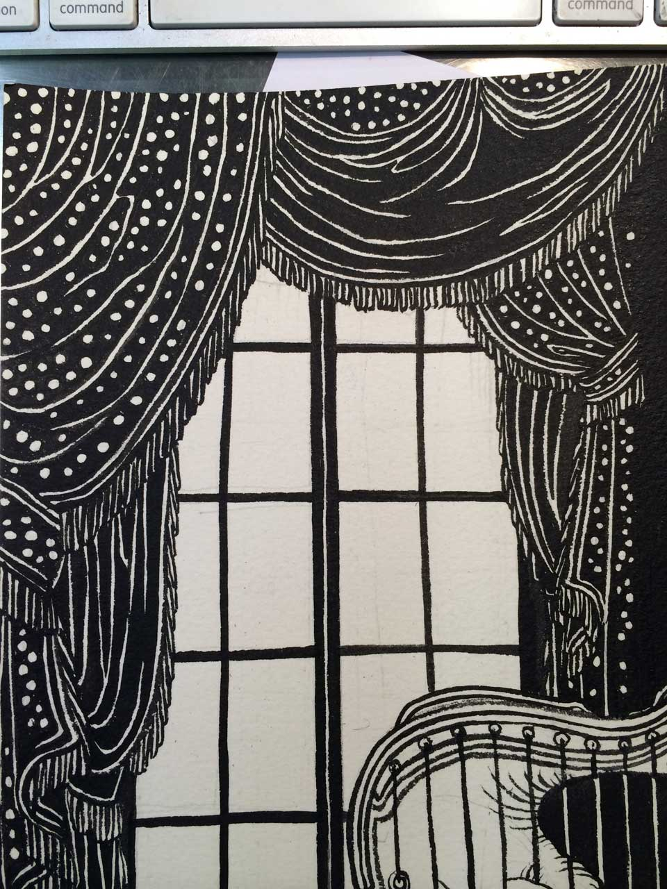 Yuko Shimizu - A Wild Swan – interior illustrations 1 – -