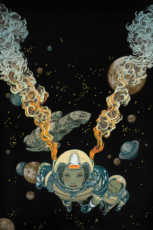 Yuko Shimizu - SERENITY issue 1 variant cover -