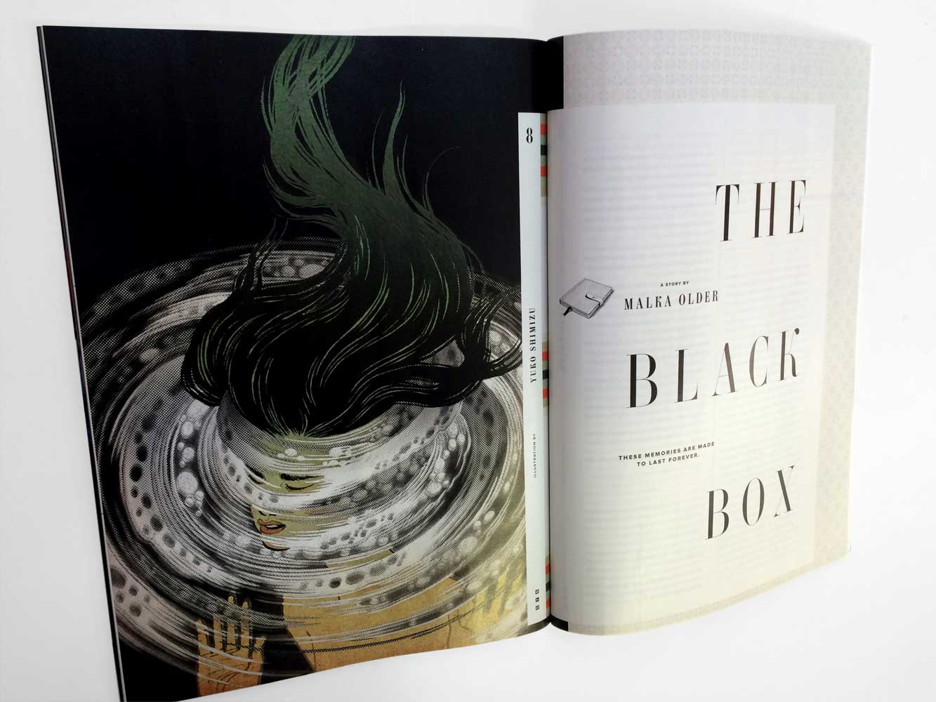 Yuko Shimizu - WIRED Sci-fi Issue – Black Box – -